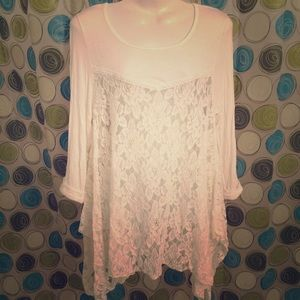 ALTAR'D State lace tunic ivory M